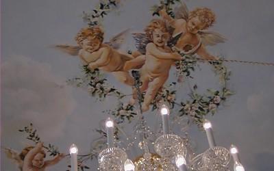 Cherub ceiling