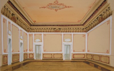 Ballroom with boiserie