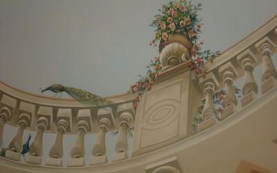 Parco dei Pini ceiling
