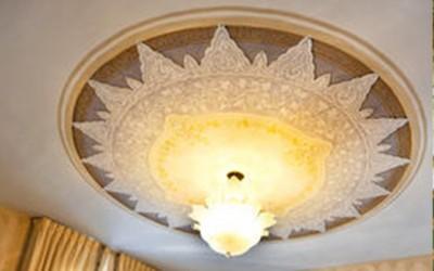 Master suite ceiling