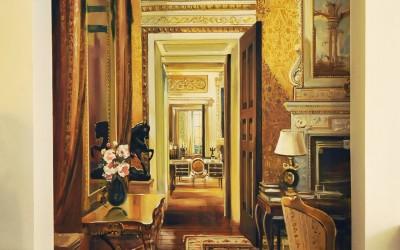 Trompe l'Oeil hallway